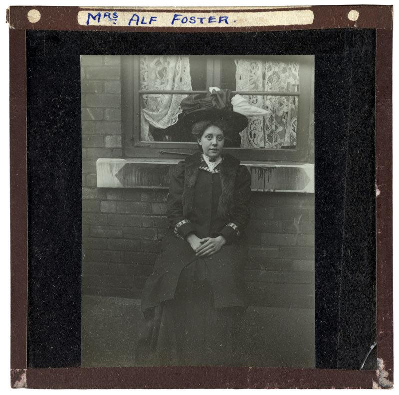 Mrs Alf Foster.