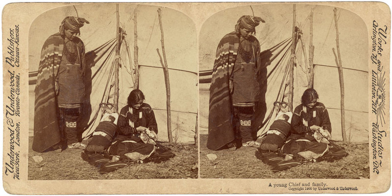A young Chief and family.