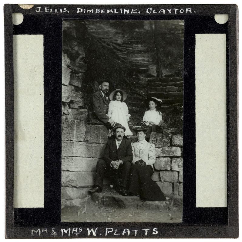 J. Ellis, Dimberline, Claytor, Mr and Mrs W. Platts.