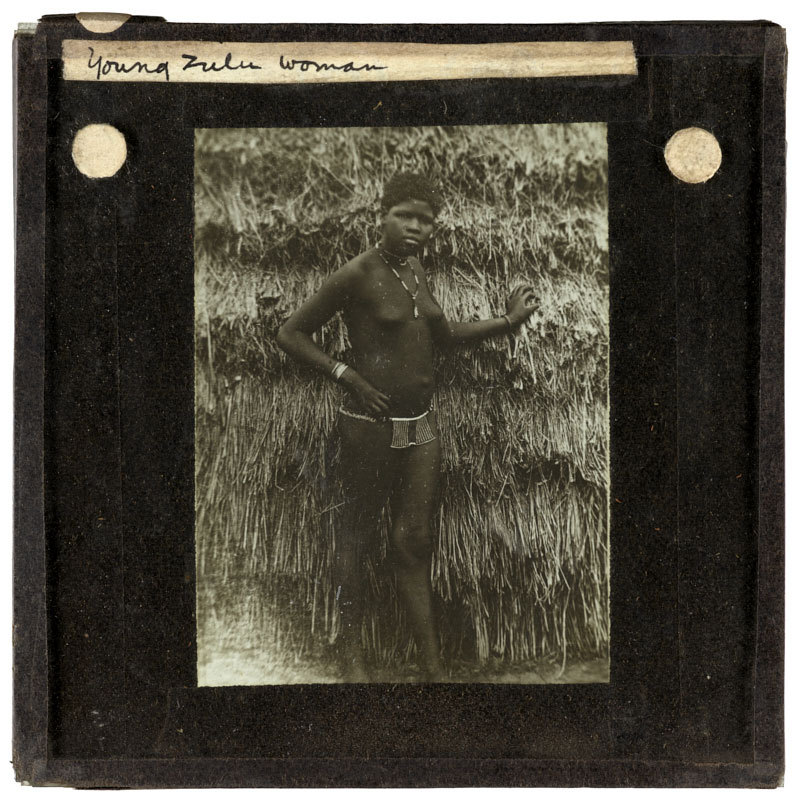 Young Zulu woman.