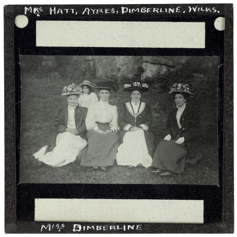 Mrs Hatt, Ayres, Dimerline, Wilks and Miss Deimberline.